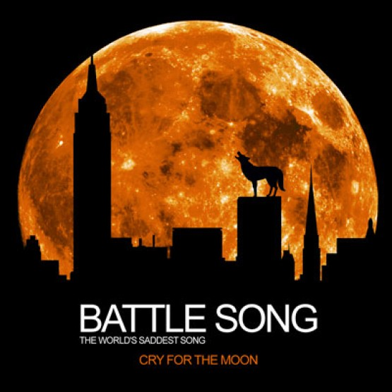 saddest song in the world, saddest song in the world, battle song, CRYFORTHEMOON